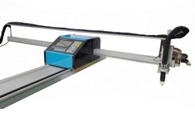 շարժական cnc flame / պլազմային կտրող մեքենա պողպատ 8mm cnc մետաղական կտրելու մեքենա համար փողային պղնձի