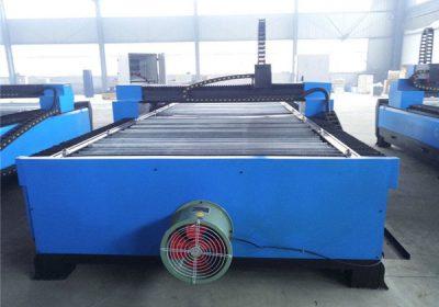 Plazma Cutter Թերթիկը Steel CNC Սեղանի Plasma Cutting Machine