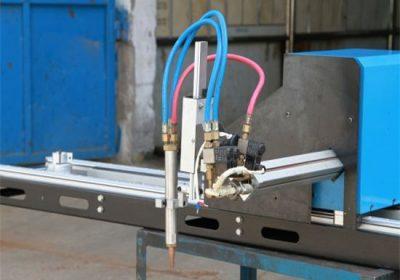 Mini պտուտակ CNC պլազմային կտրում մեքենա / CNC գազի պլազմային դանակ
