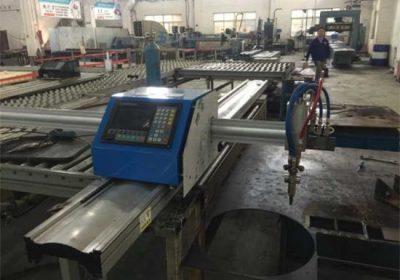 Բարձր հստակեցում Gantry Type CNC Plasma Աղյուսակ կտրում մեքենա պլազմային cutter տաք գործարք