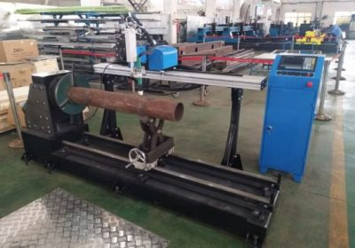Նոր արտադրատեսակ շարժական CNC պլազմա չժանգոտվող պողպատից խողովակների կտրող մեքենա