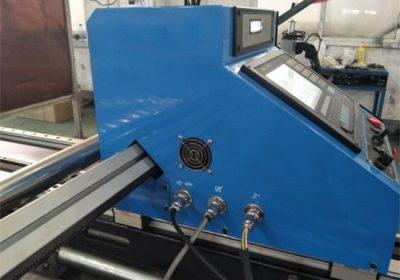 շարժական cnc 43A ուժային պլազմային կտրող մեքենա START ԱՌԱՋՆՈՐԴԵՑ LCD վահանակի կառավարման համակարգը պլազմային կտրելու մետաղական մեքենայի գինը