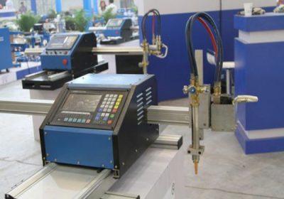 Երկու մետաղական թերթիկ եւ մետաղյա խողովակ CNC կտրող մեքենա, ինչպես պլազմայի կտրման, այնպես էլ օքսիդի վառելիքի կտրման ջահը