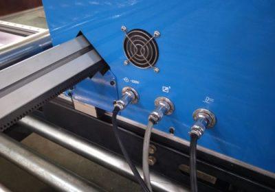Գանտի տեսակի CNC պլազմայի կտրում մեքենա, պլաստմասե հատակի կտրման մեքենա պլազմային դանակ