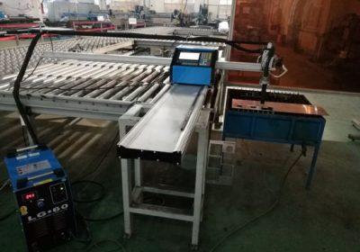 CNC շարժական պլազմա / ալյումինե կտրելու մեքենա