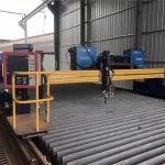 Եվրոպական որակյալ CNC պլազմա եւ ֆլեյմ կտրող մեքենա / պլազմային cnc կտրող մեքենա մետաղի համար